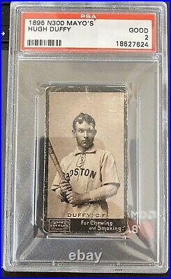 1895 N300 Mayo's Hugh Duffy Psa 2 Good Hof Rare 125 Years Old Boston