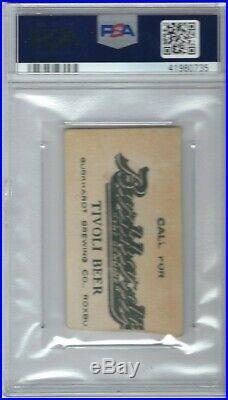 1913 Boston Red Sox Baseball Ticket Fully Dated Vs. Yankees Tris Speaker Psa 3