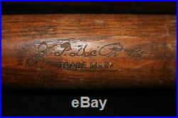 1920s DOC PROTHRO 34 1/2 H&B GAME USED Baseball Bat Boston Red Sox, Memphis