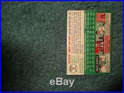 1954 54 TOPPS BASEBALL SET TED WILLIAMS #1, VG-EX, Red Sox, HOF