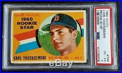 1960 Topps #148 Carl Yastrzemski PSA 4 VG-EX HOF Rookie Card