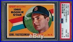 1960 Topps Carl Yastrzemski Rookie Star RC #148 PSA 8 NM-MT