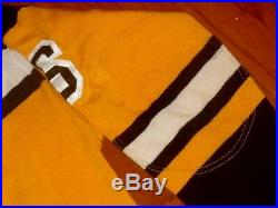 1960s USED BOSTON BRUINS VINTAGE DURENE COSBY HOCKEY JERSEY 1970s RED SOX GAME