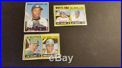 1967 topps baseball 15 card high number lot ex-nm