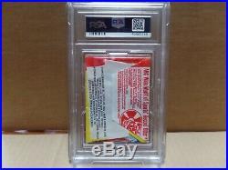 1973 Topps Baseball 4th Series Wax Pack PSA 8 NM-Mint
