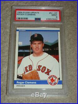 1984 & 1985 Roger Clemens Lot Topps Donruss Psa 10 Fleer Update Psa 9 Tcma 8 Wow