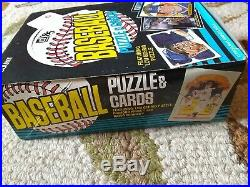 1985 Donruss Baseball Unopened Wax Box (36 Sealed Packs)