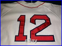 1989-90 Ellis Burks Red Sox game worn used jersey
