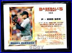 1993 Topps Finest Refractor #104 Roger Clemens All-Star