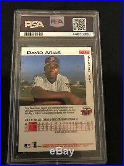 1997 DAVID ORTIZ Arias Fleer #512 Rookie Rc PSA 10 GEM MINT Red Sox HOF