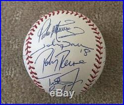 2004 BOSTON RED SOX team signed official MLB baseball WORLD SERIES CHAMPS
