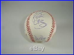 2004 Boston Red Sox Team Signed Official WS Baseball 22 sigs with MLB hologram