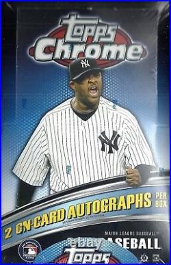 2011 Topps Chrome Baseball Hobby Box Chris Sale Aroldis Chapman RC's