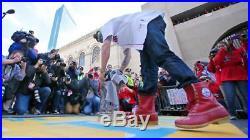 2013 Red Sox World Series LL Bean Boots Boston Strong Marathon 2018 Champions