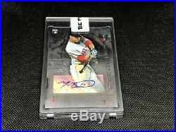 2014 Bowman Sterling RC AUTO Mookie Betts Boston Red Sox