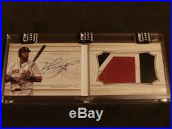 2017 Topps Definitive David Ortiz Auto Patch Book SP #1/3 Red Sox WoW NiCE CLEAN