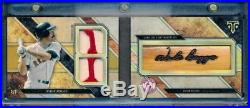 2017 Triple Threads Wade Boggs Bat Barrel Nameplate Patch #1/1 Boston Red Sox