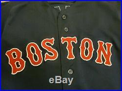 2018 Boston Red Sox Issued Blake Swihart Jersey MLB COA Game Un-Used Un-Worn