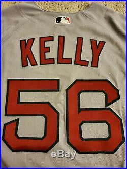 2018 Boston Red Sox Issued Joe Kelly Jersey MLB COA Game Un-Used Un-Worn Dodgers