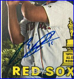 2018 Topps Heritage RAFAEL DEVERS Rookie RC Mint Auto Autograph Red Sox
