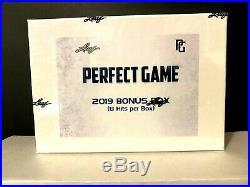 2019 Leaf Perfect Game Baseball Bonus Box 8 Auto All 1/1 2 Zac Veen Blaze Jordan