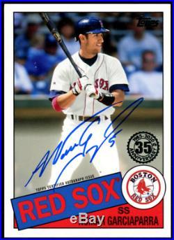 2020 Topps Series 1 Nomar Garciaparra On Card Auto Boston Red Sox