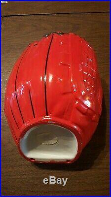 Boston Red Sox 2007 World Series Danbury Mint Red Porcelain Full Size Glove