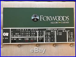 Boston Red Sox Fenway Park Green Monster Sign Collectible 6 Feet Wide! 72 X 12