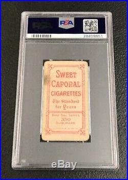 Boston Red Sox Tris Speaker 1909 T206 Sweet Caporal 350/30 PSA 2.5 Good+