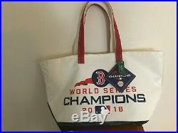 Boston Red Sox World Series LL Bean Tarp Tote 2018
