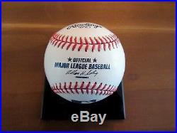 Carl Yastrzemski Red Sox Hof Tc Signed Auto Baseball Topps Archive 2001 Hologram
