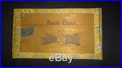 Circa 1901 Baseball Jack Deal Cigar Box RARE LANCASTER PA BOSTON RED SOX