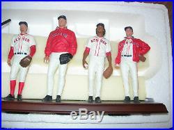 Danbury Mint 2004 World Champion Boston Red Sox Ortiz Schilling Martinez Damon