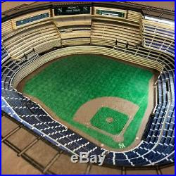 Danbury Mint Baseball Stadium Replica End Table BOSTON RED SOX With LED lights