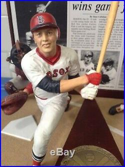 Danbury Mint Boston Red Sox Carlton Fisk Homerun