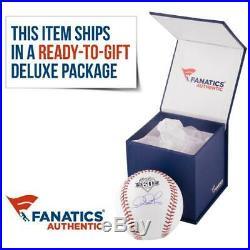 David Ortiz Red Sox Signed Baseball with 541 HR's Fanatics