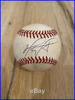 David Ortiz Signed Baseball PSA/DNA Boston Red Sox Autograph Ball Big Papi
