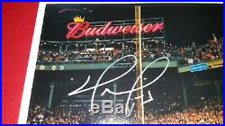 David Ortiz Signed Boston Red Sox Framed Autograph 8X10 Photo GA COA Big Papi