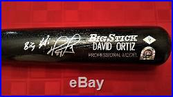 David Ortiz signed Bat with BC Sports, MLB Certification & BIG PAPI Inscription