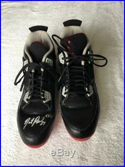 David Price 2017 Game used & signed cleats Jordan Boston Red Sox PSA/DNA