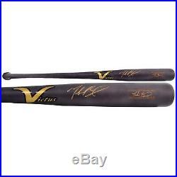 Mookie Betts Boston Red Sox Signed Victus Gray Game Model Bat Fanatics