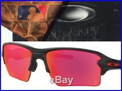 NEW Oakley Flak 2.0 Boston Red Sox MLB Matte Black Prizm Field Sunglass 9188-A2