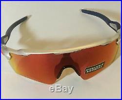 New Oakley MLB Radar EV Path Boston Red Sox Prizm Field Mens Sunglasses Silver