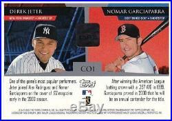 Nomar Garciaparra, Jeter 2001 Stadium Club Co-Signers Certified Autograph Issue
