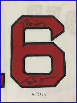 Ted Danson Signed #16 Boston Red Sox Sam Malone Jersey Mayday Inscript Jsa Coa