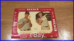 Ted Williams Vintage 1952 Type 2 Star-Cal Decal