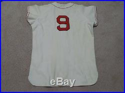 Ted Williams Vintage Flannel Jersey Boston Red Sox HOF #9