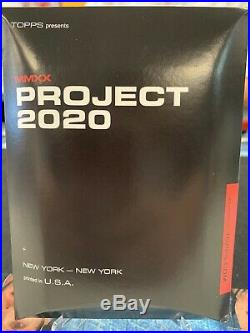 Topps Project 2020 Ted Williams Fucci #34 PR #/1131 W Box Red Sox 2