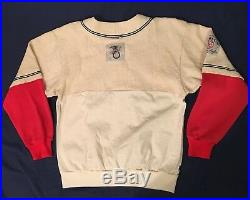 Vtg 80s/90s Nike Silver Tag Boston Red Sox Fenway Park Jersey Sweatshirt Sz M